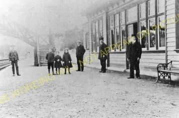 Rothiemay Railway Station Photo. Cairnie - Huntly. Gartly Line. GNSR. (4)