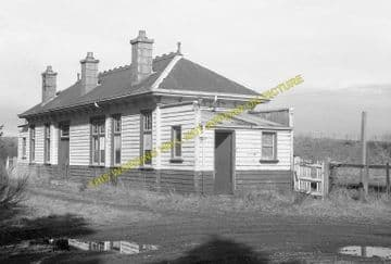 Rothiemay Railway Station Photo. Cairnie - Huntly. Gartly Line. GNSR. (5)