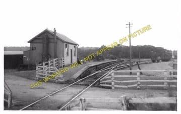 Saltoun Railway Station Photo. Pencaitland - Humbie. Ormiston to Gifford. (2)