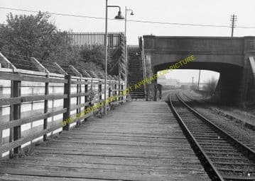 Sandyford Railway Station Photo. Paisley - Renfrew. Glasgow & South Western (4).