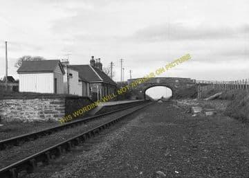Scotscalder Railway Station Photo. Altnabreac - Halkirk. Georgemas Line. (2)