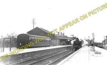 Seaton & Uppingham Railway Station Photo. Rockingham - Morcott. L&NWR. (1)