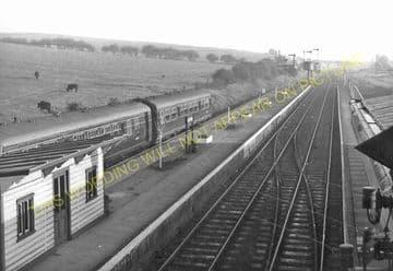 Seaton & Uppingham Railway Station Photo. Rockingham - Morcott. L&NWR. (26)
