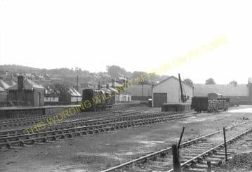 Selkirk Railway Station Photo. Galashiels Line. North British Railway. (4)