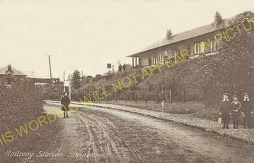 Shandon Railway Station Photo. Helensburgh - Garelochhead. North British. (4)