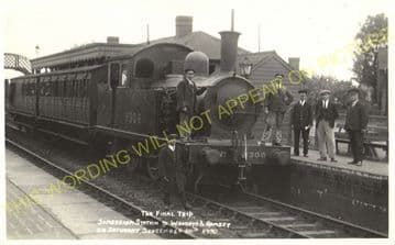 Somersham Railway Station Photo. St. Ives to Warboys and Chatteris Lines. (6)