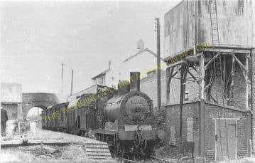 Sorbie Railway Station Photo. Whauphill - Millisle. Whithorn Line. P&WJR. (1)..
