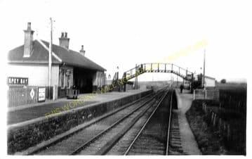 Spey Bay Railway Station Photo. Garmouth - Port Gordon. Elgin to Buckie Line (1)..