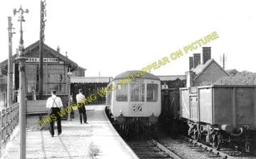 St. Ives Railway Station Photo. Swavesey to Bluntisham and Huntingdon Lines (2)