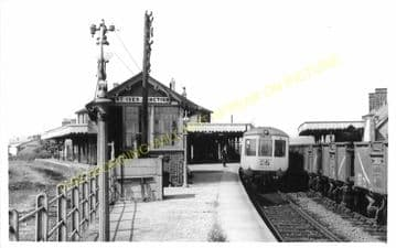 St. Ives Railway Station Photo. Swavesey to Bluntisham and Huntingdon Lines (24)