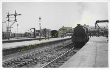 Stirling Railway Station Photo. Caledonian Railway. (3)