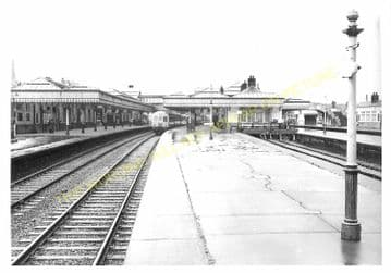 Stirling Railway Station Photo. Caledonian Railway. (5)