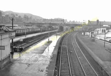 Stirling Railway Station Photo. Caledonian Railway. (9)