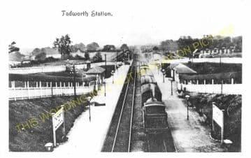 Tadworth & Walton-on-the-Hill Railway Station Photo. Tattenham Corner Line. (13)