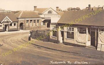 Tadworth & Walton-on-the-Hill Railway Station Photo. Tattenham Corner Line. (31)
