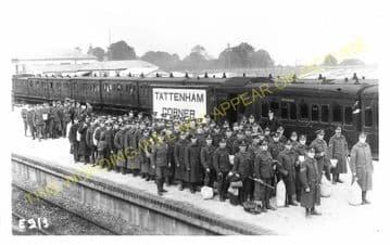 Tattenham Corner Railway Station Photo. Tadworth, Chipstead and Purley Line (9)
