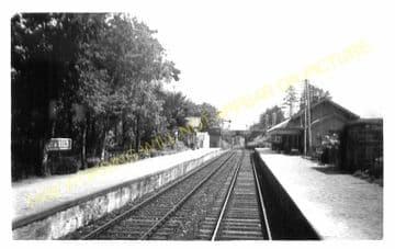 Taynuilt Railway Station Photo. Loch Awe - Connel Ferry. Caledonian Railway. (3)