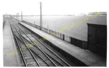 Thornbridge Railway Station Photo. Falkirk - Grangemouth. Caledonian Rly. (2)