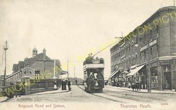Thornton Heath Railway Station Photo. Norbury - Selhurst. Norwood Line. (10)