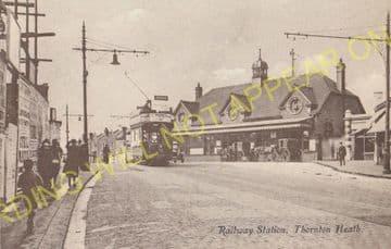Thornton Heath Railway Station Photo. Norbury - Selhurst. Norwood Line. (11)