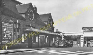 Thornton Heath Railway Station Photo. Norbury - Selhurst. Norwood Line. (14)