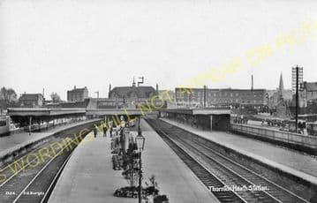 Thornton Heath Railway Station Photo. Norbury - Selhurst. Norwood Line. (16)
