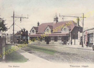 Thornton Heath Railway Station Photo. Norbury - Selhurst. Norwood Line. (9)