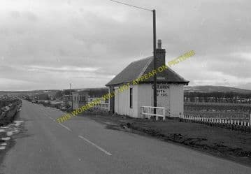 Thrumster Railway Station Photo. Wick - Ulbster. Lybster Line. Highland Rly. (1)