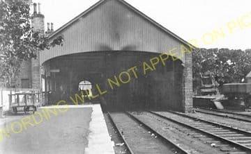 Thurso Railway Station Photo. Georgemas Line. Highland Railway (1)