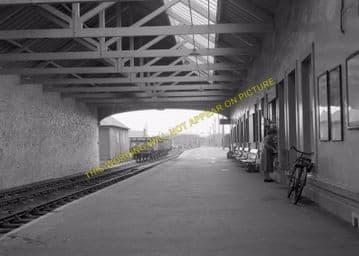 Thurso Railway Station Photo. Georgemas Line. Highland Railway (11)