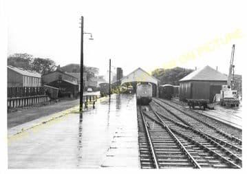 Thurso Railway Station Photo. Georgemas Line. Highland Railway (12)