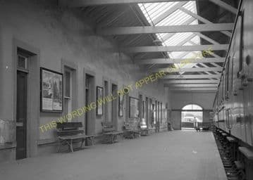 Thurso Railway Station Photo. Georgemas Line. Highland Railway (16)