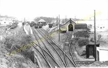 Thurso Railway Station Photo. Georgemas Line. Highland Railway (18)