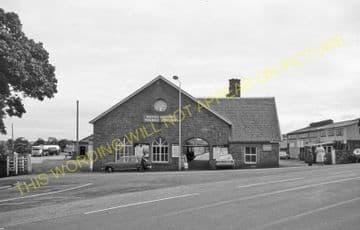 Thurso Railway Station Photo. Georgemas Line. Highland Railway (19)