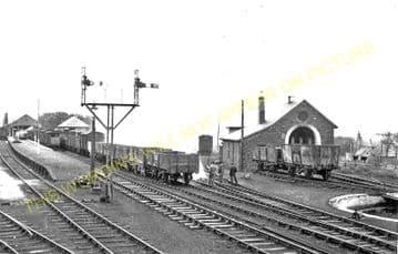 Thurso Railway Station Photo. Georgemas Line. Highland Railway (2)