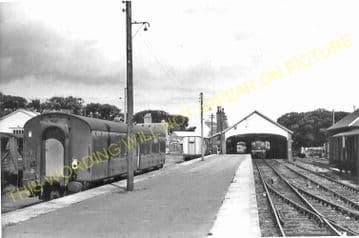 Thurso Railway Station Photo. Georgemas Line. Highland Railway (21)