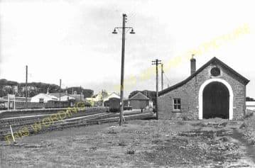 Thurso Railway Station Photo. Georgemas Line. Highland Railway (22)