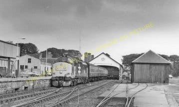 Thurso Railway Station Photo. Georgemas Line. Highland Railway (23)