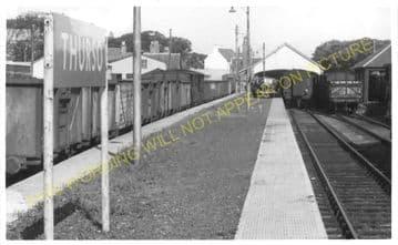 Thurso Railway Station Photo. Georgemas Line. Highland Railway (7)