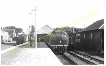 Thurso Railway Station Photo. Georgemas Line. Highland Railway (9)