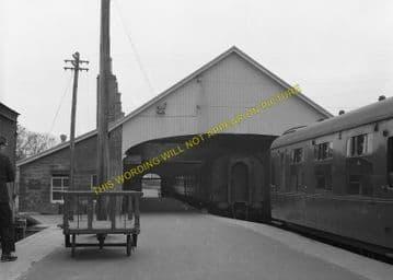 Thurso Railway Station Photo. Georgemas Line. Highland Railway. (14)