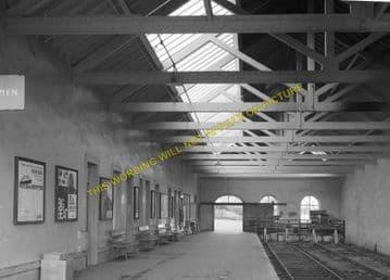 Thurso Railway Station Photo. Georgemas Line. Highland Railway. (15)