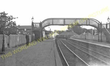 Tillicoultry Railway Station Photo. Dollar - Sauchie. Alloa Line. (1)..