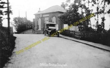 Tongham Railway Station Photo. Ash Green - Farnham. Guildford to Alton Line. (1)..