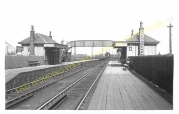 Uphall Railway Station Photo. Drumshoreland to Livingstone and Bangour Lines (2)