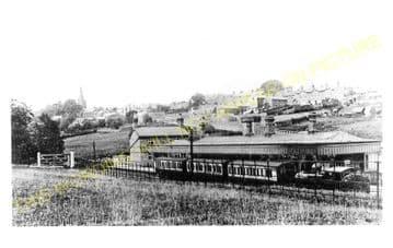 Uppingham Railway Station Photo. Seaton Line. London & North Western Railway (4)