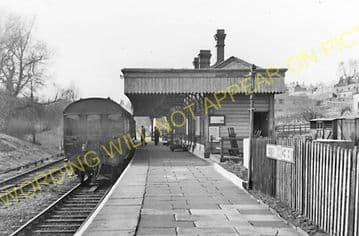 Uppingham Railway Station Photo. Seaton Line. London & North Western Railway (7)