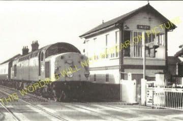 Valley Railway Station Photo. Holyhead - Rhosneigr. Anglesey. Bangor Line. (4).