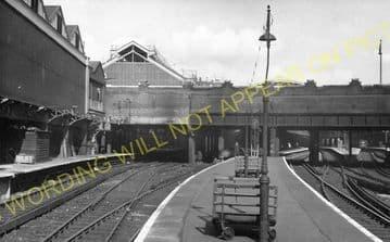 Victoria Railway Station Photo. South Eastern & Chatham Railway. (20)
