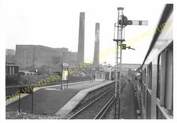 Waddon Marsh Railway Station Photo. Croydon - Beddington Lane. Mitcham Line. (4)